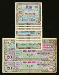 """World Currency: , Japan Allied Military Currency Series 100 Supplemental """"B"""" Yen(1946).... (Total: 12 notes)"""