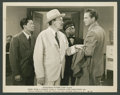 "Movie Posters:Mystery, Sidney Toler & Mantan Moreland in ""Shadows over Chinatown"" (Monogram, 1946). Still (8"" X 10""). Mystery.. ..."