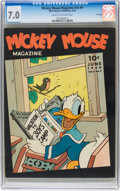 Golden Age (1938-1955):Cartoon Character, Mickey Mouse Magazine V5#9 File Copy (K. K. Publications, Inc.,1940) CGC FN/VF 7.0 Cream to off-white pages....