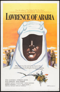 "Lawrence of Arabia (Columbia, 1962). One Sheet (27"" X 41"") Roadshow Style B. War"