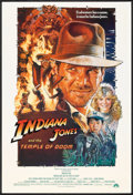 """Movie Posters:Adventure, Indiana Jones and the Temple of Doom (Paramount, 1984). One Sheet(27"""" X 40"""") Style B. Adventure.. ..."""