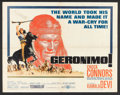 """Movie Posters:Western, Geronimo (United Artists, 1962). Half Sheet (22"""" X 28""""), Lobby Card Set of 8 (11"""" X 14""""), and Japanese Program (Multiple Pag... (Total: 10 Items)"""