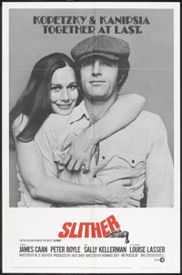 """Slither (MGM, 1973). One Sheet (27"""" X 41"""") and Lobby Card Set of 8 (11"""" X 14""""). Comedy. ... (Total:..."""