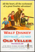 "Movie Posters:Drama, Old Yeller (Buena Vista, R-1974). One Sheet (27"" X 41"") andPressbook (11"" X 15""). Drama.. ... (Total: 2 Items)"
