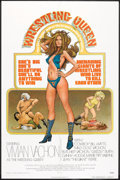 "Movie Posters:Sports, The Wrestling Queen (Harnell Independent Productions, 1973). One Sheet (27"" X 41""). Sports.. ..."