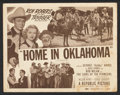 """Movie Posters:Western, Home in Oklahoma (Republic, R-1952). Lobby Card Set of 4 (11"""" X 14""""). Western.. ... (Total: 4 Items)"""