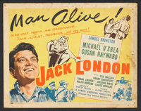"Jack London (United Artists, 1943). Lobby Card Set of 8 (11"" X 14""). Action. ... (Total: 8 Items)"