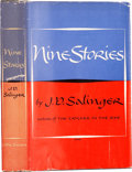 Books:First Editions, J. D. Salinger. Nine Stories. Boston: Little, Brown andCompany, 1953.. First edition. Octavo. 302 pages.. P...