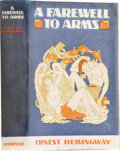 Books:First Editions, Ernest Hemingway. A Farewell to Arms. New York: CharlesScribner's Sons, 1929.. First edition. Octavo. 355 pag...