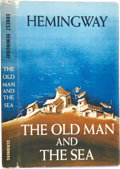 Books:First Editions, Ernest Hemingway. The Old Man and the Sea. New York: CharlesScribner's Sons, 1952.. First edition, in the fir...