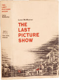Books:First Editions, Larry McMurtry. The Last Picture Show. New York: Dial Press,1966.. First edition. Octavo. 280 pages.. Publi...