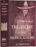 Books:First Editions, B. Traven. The Treasure of the Sierra Madre. New York:Knopf, 1935. . First American edition. Octavo. 366 page...