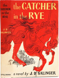 Books:First Editions, J. D. Salinger. The Catcher in the Rye. Boston: Little,Brown and Company, 1951. . First edition. Octavo. 277 ...