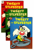 Golden Age (1938-1955):Cartoon Character, Tweety and Sylvester File Copies Group (Dell, 1954-58) Condition:Average VF.... (Total: 13 )
