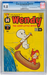Wendy, the Good Little Witch #10 File Copy (Harvey, 1962) CGC NM/MT 9.8 Off-white pages