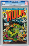 Bronze Age (1970-1979):Superhero, The Incredible Hulk #180 (Marvel, 1974) CGC NM+ 9.6 Off-white to white pages....