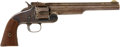 """Military & Patriotic:Indian Wars, Very Early Smith & Wesson No. 3, 1st Model, """"1st Model American,"""" .44 Caliber Single Action Revolver, #235...."""