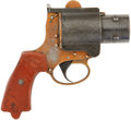 Military & Patriotic:WWI, Very Scarce No. 4 Mk. 1 World War I British Royal Flying CorpsFlare Pistol, #24356 Matching....