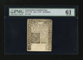 Colonial Notes:Connecticut, Connecticut July 1, 1775 40s PMG Uncirculated 61....
