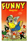 "Golden Age (1938-1955):Funny Animal, Funny Frolics #1 Davis Crippen (""D"" Copy) pedigree (Timely, 1945)Condition: FN+...."