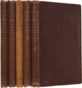Books:First Editions, Victor Hugo. Les Misérables. Translated from the OriginalFrench by Chas. E Wilbour. New York: Carleton, Publish... (Total: 5Items)