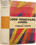 Books:First Editions, Thomas Wolfe. Look Homeward, Angel. A Story of a BuriedLife. New York: Charles Scribner's Sons, 1929.. First ...