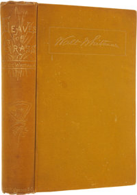 Walt Whitman. Leaves of Grass. Boston: James R. Osgood and Company, 1881-82