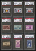 Stamps, 3c - 25c Modern Collection (914//E15a),... (Total: 25 Slab)