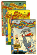 Golden Age (1938-1955):Cartoon Character, Looney Tunes and Merrie Melodies Comics Group (Dell, 1944-45)Condition: Average VG.... (Total: 9 Comic Books)