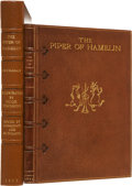 Books:First Editions, [Hugh Thomson, illustrator]. Robert Buchanan. The Piper ofHamelin. A Fantastic Opera in Two Acts. London: Print...