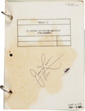 Explorers:Space Exploration, Apollo 13 Training-Used LM Systems Activation Checklist(Preliminary) Directly from the Personal Collection of MissionCommand...