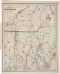 Books:Non-fiction, [Map of Ascot Gold and Mining Company]. Ascot Gold Fields: Lower Canada. Drawn, engraved by G. W. & C. B. Co...