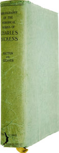 Books:First Editions, [Charles Dickens]. Thomas Hatton and Arthur H. Cleaver. ABibliography of the Periodical Works of Charles Dickens. 1...