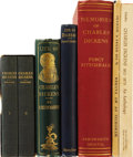 Books:Fiction, [Charles Dickens]. Lot of Five Charles Dickens Biographies and OneAnthology. All in good or better condition.... (Total: 6 Items)