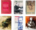 Books:Fiction, [Charles Dickens]. Six Books About Charles Dickens. All in dustjackets. All very good.... (Total: 6 Items)