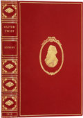 "Books:Fiction, Charles Dickens. The Adventures of Oliver Twist. London:Bradbury & Evans, 1846.. ""A new edition, revised and..."