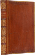 Books:First Editions, John Dryden. The Fables of John Dryden. London: T. Bensley,1797.. First edition, thus. Folio. xviii, 241 pages. C...