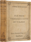 Books:First Editions, Thomas Hardy. Far From the Madding Crowd. New York: HenryHolt and Company, 1874.. First American edition, pub...