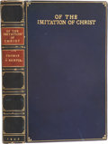 Books:Non-fiction, Thomas à Kempis. Of the Imitation of Christ. London: Chattoand Windus, 1908. Octavo. Eight color plates by W Russel...