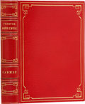 Books:Fiction, Prosper Mérimée. Carmen. Paris: Pour les Cent Bibliophiles,1901.. First thus. Limited to 125 numbered copies, thi...