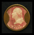 Encased Postage: , HB-18 EP-33 3¢ Take Ayer's Pills Very Fine. ...