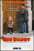 "Movie Posters:Comedy, Big Daddy (Columbia, 1999). One Sheet (27"" X 40"") DS Advance. Comedy.. ..."