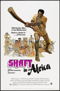"Movie Posters:Blaxploitation, Shaft in Africa (MGM, 1973). One Sheet (27"" X 41""). Blaxploitation.. ..."