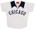 Baseball Collectibles:Uniforms, 1976-77 Jim Essian Chicago White Sox Game Worn Jersey. ...