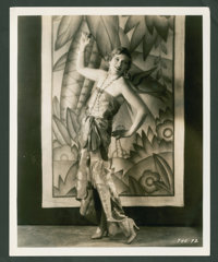 "Olga Baclanova in ""A Dangerous Woman"" by Gene Robert Richee (Paramount, 1929). Still (8"" X 10""). Thr..."