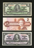 Canadian Currency: , Three Canadian Notes - $13 Face.. ... (Total: 3 notes)
