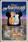 "Movie Posters:Animated, The Aristocats Lot (Buena Vista, R-1990s). TV Station Posters (2)(27"" X 41""). Animated.. ... (Total: 2 Items)"