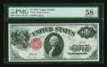 Low Two Digit Serial Number Fr. 36 $1 1917 Legal Tender PMG Choice About Unc 58 EPQ