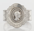 Silver Holloware, American:Napkin Rings, AN AMERICAN SILVER NAPKIN RING. The Duhme Co., Cincinnati, Ohio,circa 1880. Marks: DUHME & CO., STERLING. 1-7/8 x2-1/8...