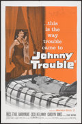 "Movie Posters:Drama, Johnny Trouble (Warner Brothers, 1957). One Sheet (27"" X 41""). Drama.. ..."